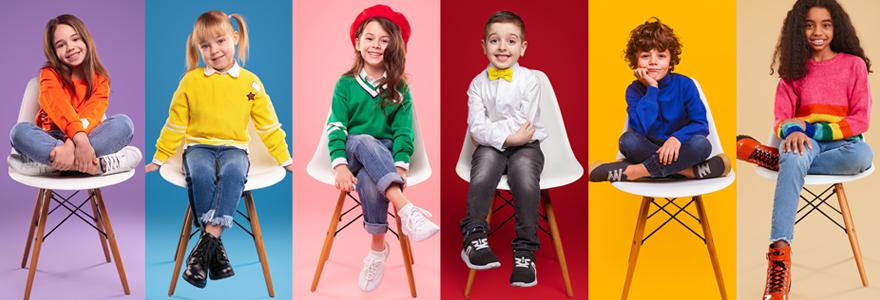 Vêtements de marque pour enfants